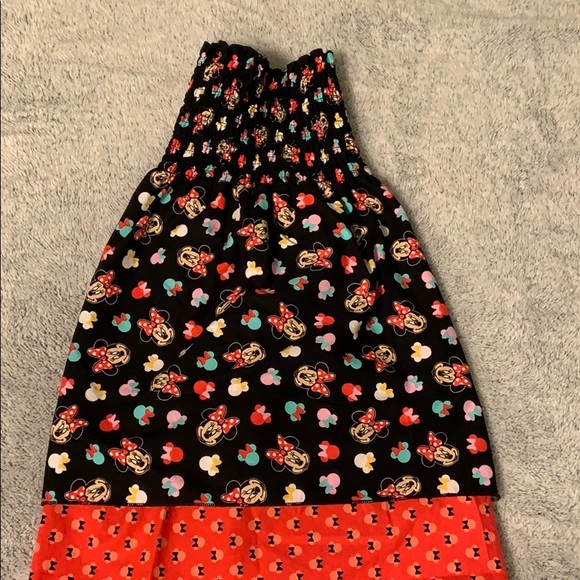 minnie mouse Other - Minnie Mouse Dress Toddler 3/4 tube top like new